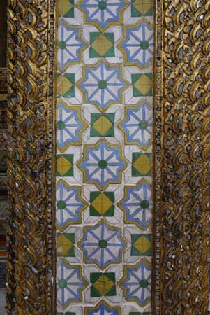 Grand Palace detail in Bangkok