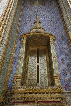 Grand Palace Door in Bangkok