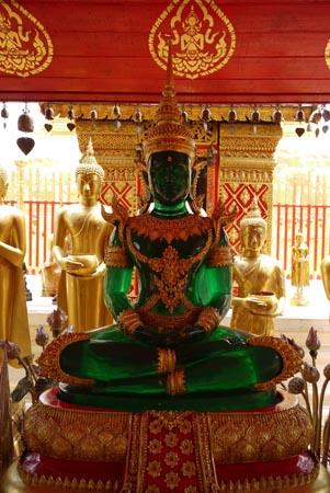 Jade Buddha in Northern Thailand