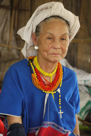 Karen Tribeswoman near Chiang Mai