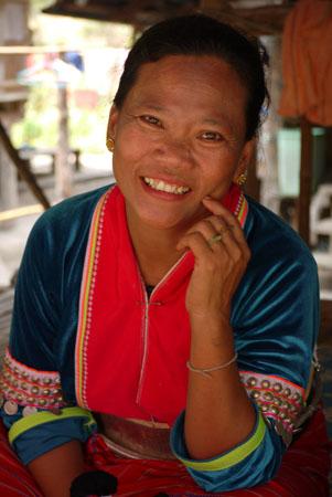 Palong woman in Chiang Mai
