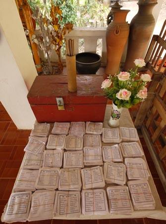 Scriptures in Luang Prabang
