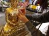Gold leaf Buddha