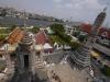 View from Wat Arun in Bangkok