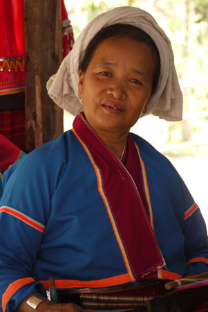 Tribalwoman in Chiang Mai