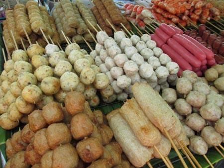 Food Vendor in Bangkok