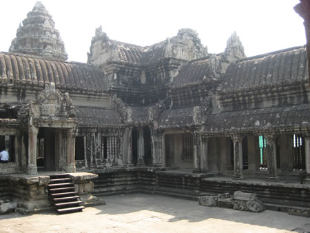 Interior at Angkor Wat
