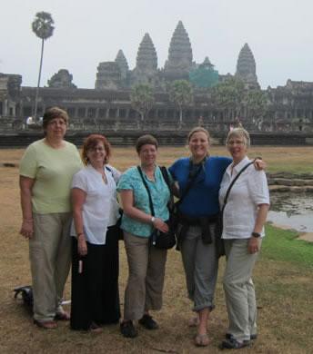Group at Angkor Wat