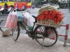 Bike carrying incense