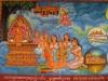Khmer Mural in Siem Reap
