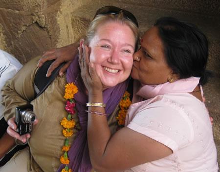 Sarah in India
