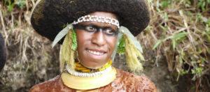 Papua New Guinea Woman Smiling