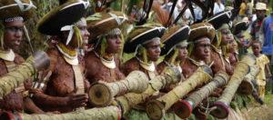 Papua New Guinea Women Drummers