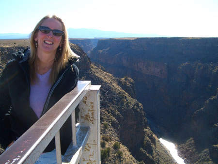 Beth at Canyon New Mexico