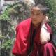 Bhutan Monk at Tiger's Nest