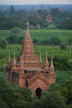 Bagan Pagodas in Burma/Myanmar