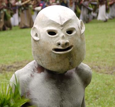Goroka Show Mudman