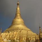 Shwedagon Pagoda Rangoon Burma Myanmar