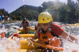 Rogue River Rafting Woman