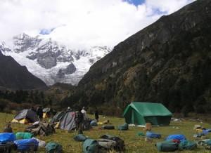 Limithang Pass in Bhutan