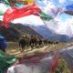 Ponies and Prayer Flags in Bhutan - Snowman Trek
