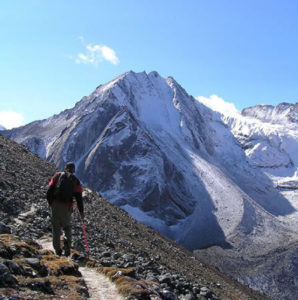 Between Tso Chena and Jichu Dramo Bhutan - Snowman Trek