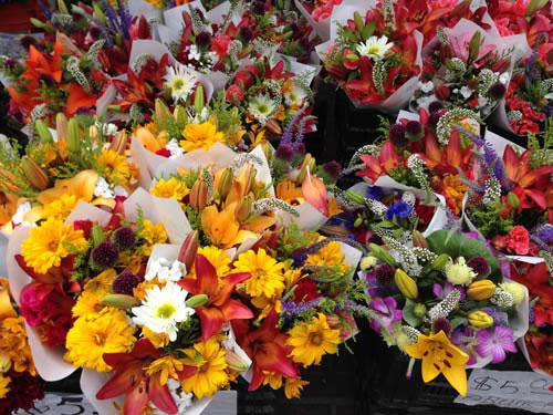 Seattle Flowers Ballard Market