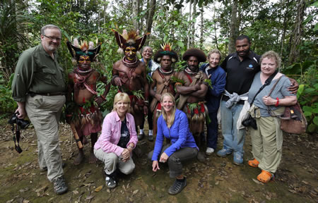 Group in Tari Papua New Guinea