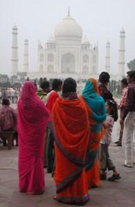 Taj Mahal Indians