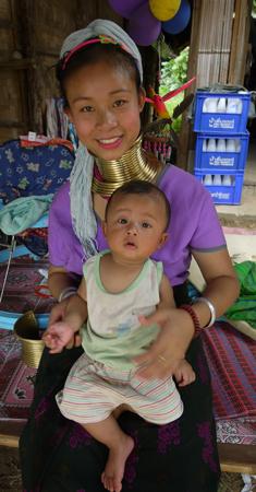 Long Neck Woman Thailand