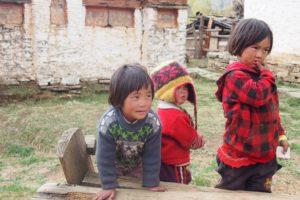 Kids in Bhutan