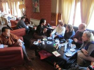 Bhutan Group Coffee Shop
