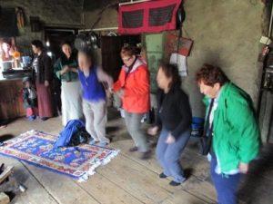 Hokey Pokey in Bhutan