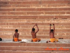 Yoga-Prayers-Varanasi-India