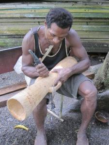Drum-Making Papua New Guinea