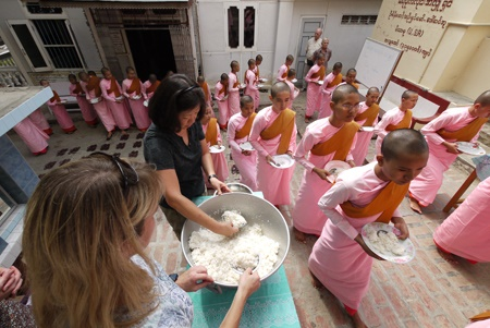 WanderTours Giving Program Myanmar