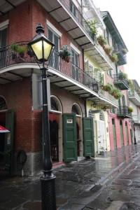 New Orleans Streetlamp Alley