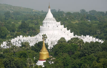 Mingun Temple in Burma/Myanmar
