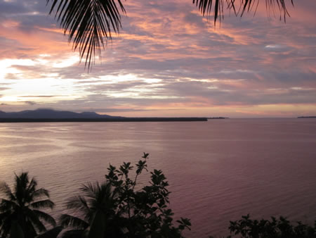 Sepik Sunset Papua New Guinea