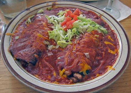 Blue Corn Burritos