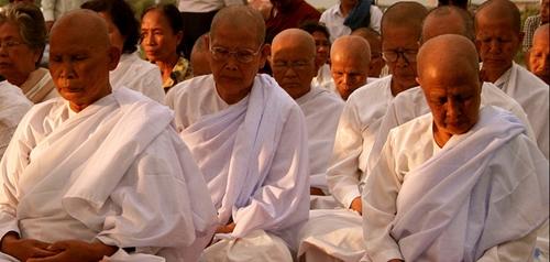 Monks in Meditation