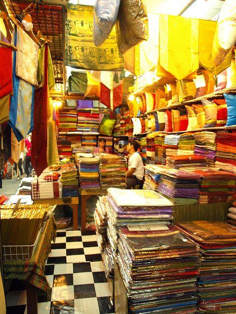 Silk in Thailand
