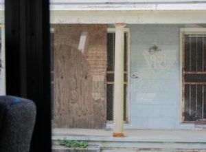 Hurricane Katrina destroyed house