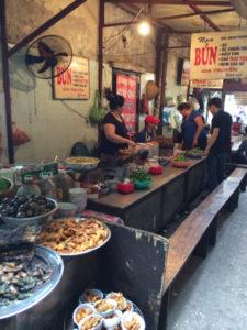 Vietnam food stall