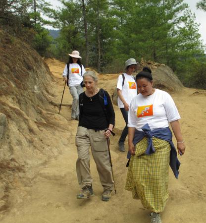 Hiking in Bhutan