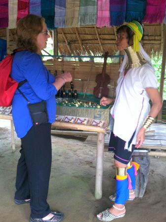 Karen hill tribe woman Thailand