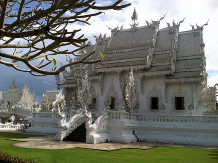 White Palace in Chiang Mai Thailand