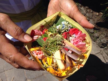 Offerings to ancestors