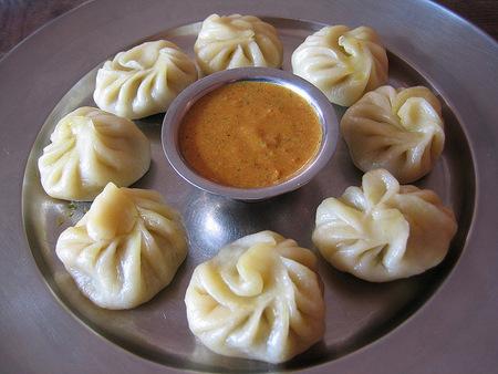 Momos from Bhutan