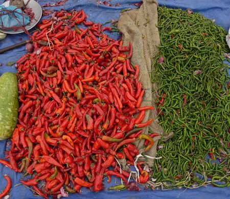 Chilies in Bhutan